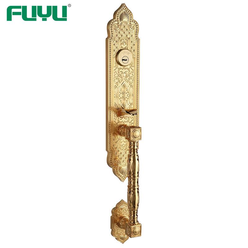 american style zinc alloy door lock trim shop FUYU-FUYU-img