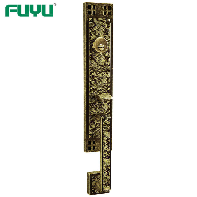 10 Year Mechanism Warranty Zinc Alloy Mortise Grip Entrance Door Lock