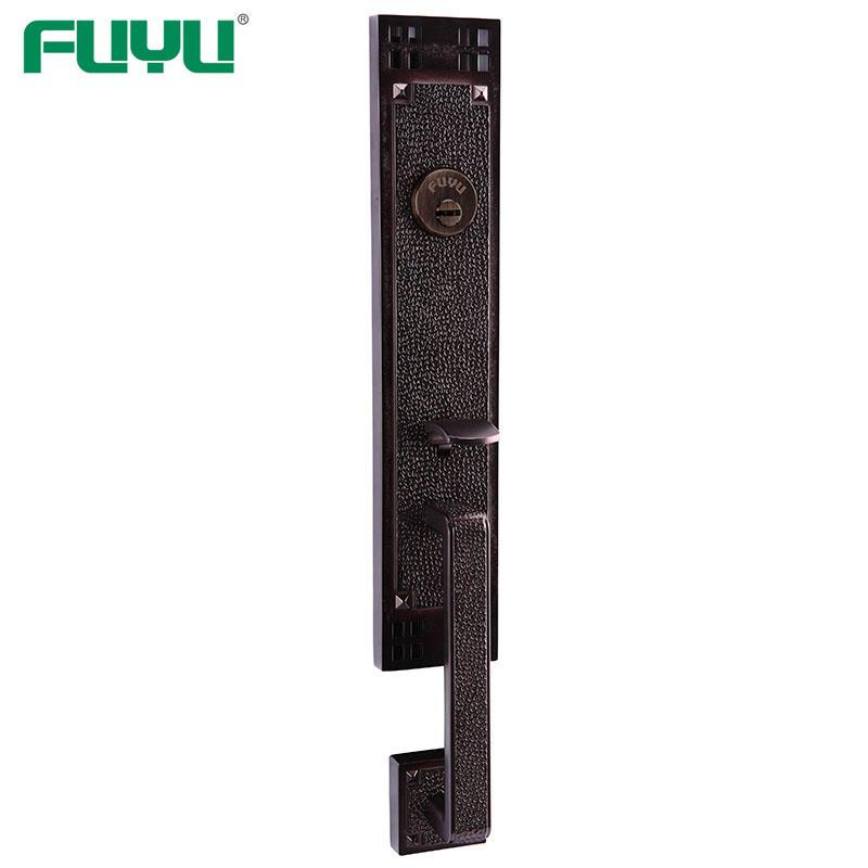 10 Year Mechanism Warranty Zinc Alloy Mortise Grip Entrance Door Lock