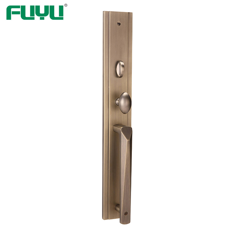 FUYU products zinc alloy handle door lock on sale for mall-FUYU-img-1