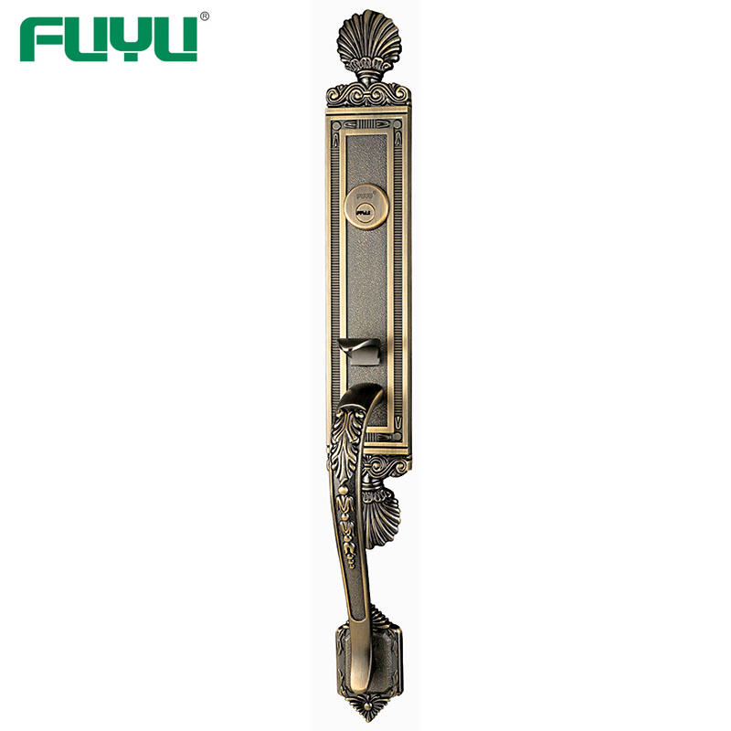 Zinc Alloy ANSI Grade 2 Grip Handleset Front Door Mortise Right Handle Locks