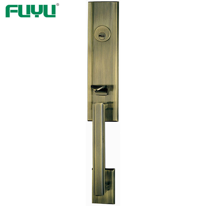 American Mortise Cylinder Types Zinc Alloy Outside Door Locks Set
