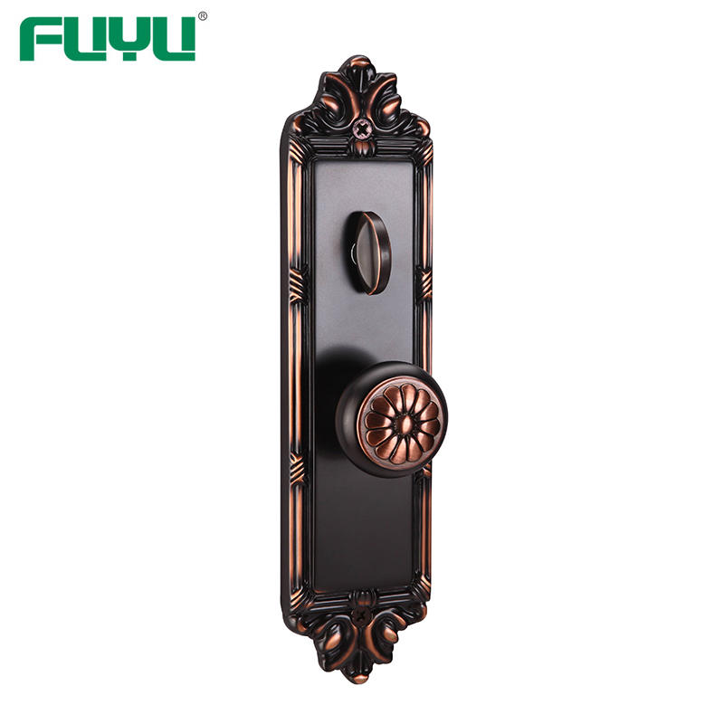 Anti-panic single latch bolt mortise brass door lock for home
