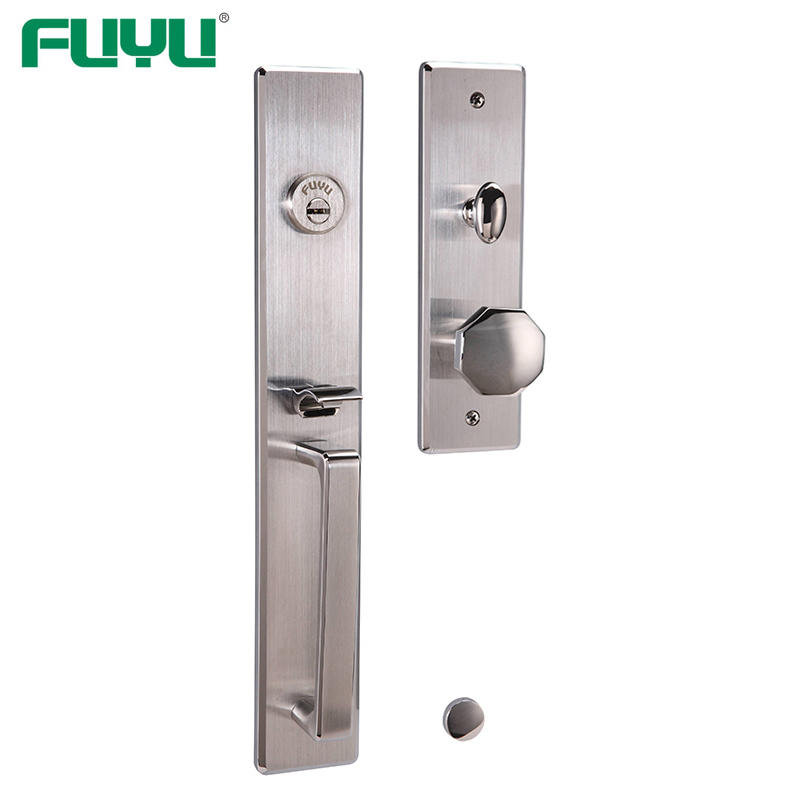Stainless Steel 304 Single Cylider Mortise Handleset Locks