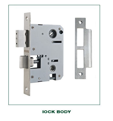 Classical antique brass big handle door lock for main door