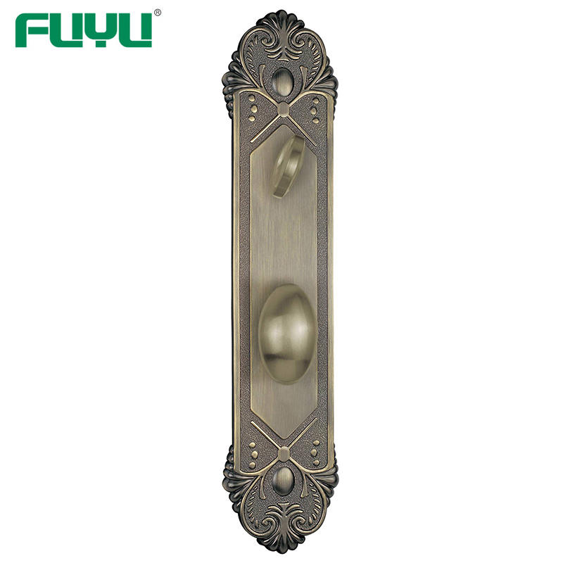 Zinc alloy anti-theft tubular door handle lock with key