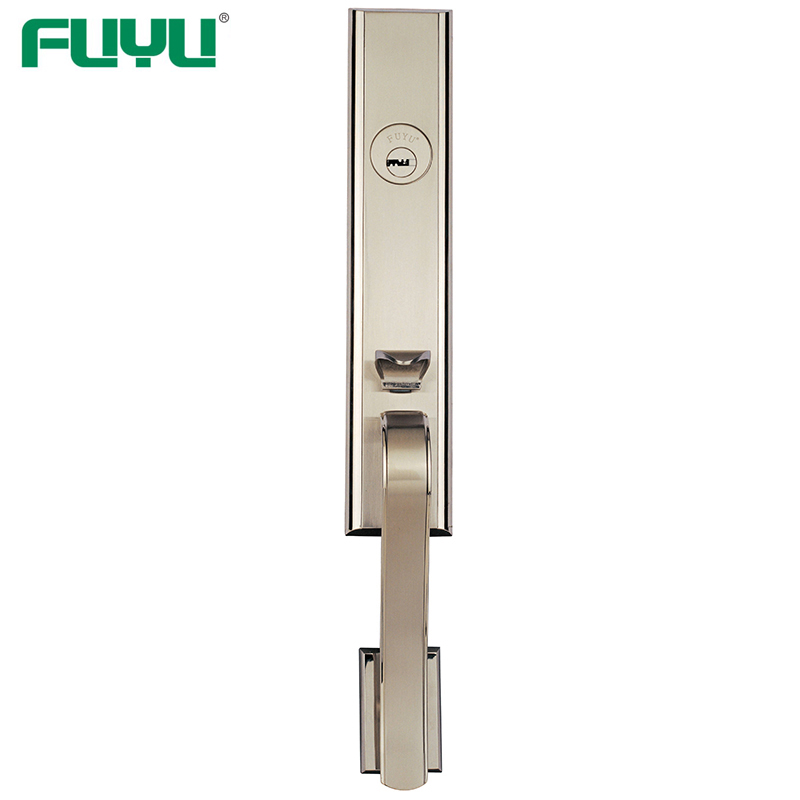 video-FUYU exterior zinc alloy door lock for timber door with latch for shop-FUYU-img-1