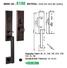 quality zinc alloy door lock for wooden door doors on sale for entry door