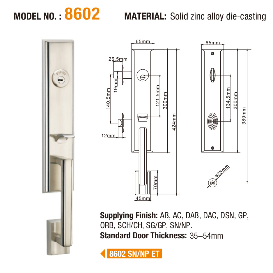 quality entry door locks manufacturer for home-6