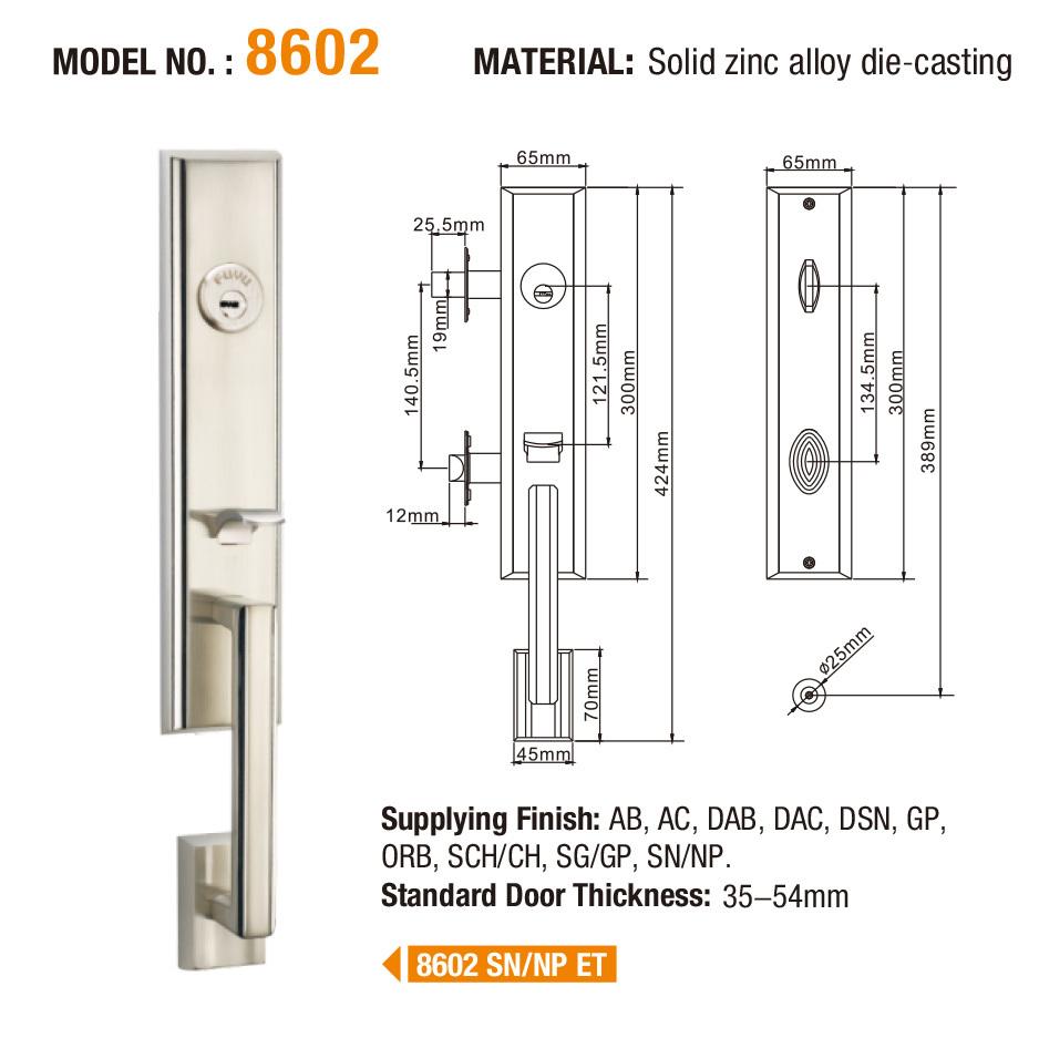 FUYU high security door locks for sale for wooden door