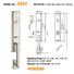 high security zinc alloy door lock for timber door residence meet your demands for shop