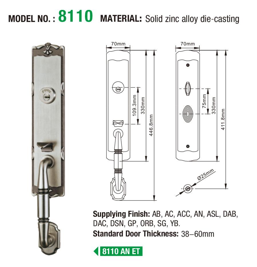 FUYU internal door locks for sale for wooden door