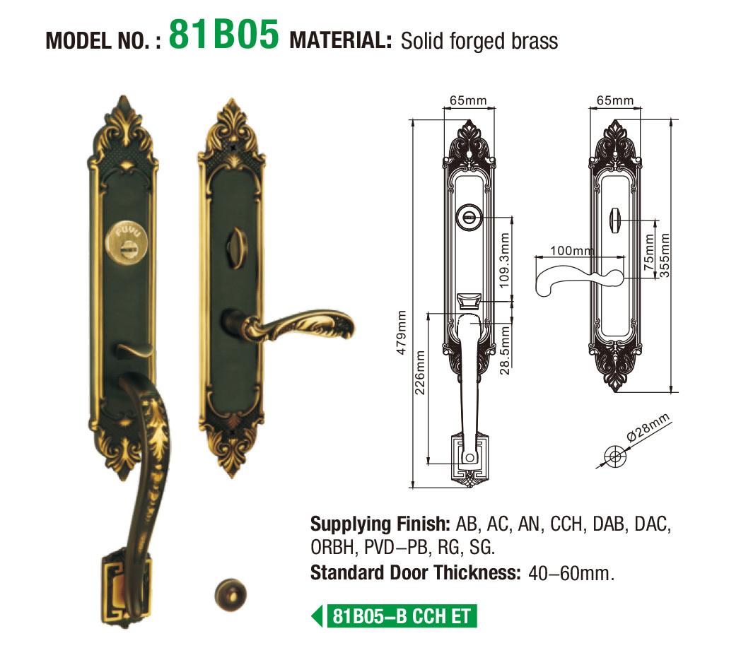 FUYU modern interior door locks on sale for residential
