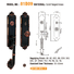 high security residential door locks apartment with latch for residential