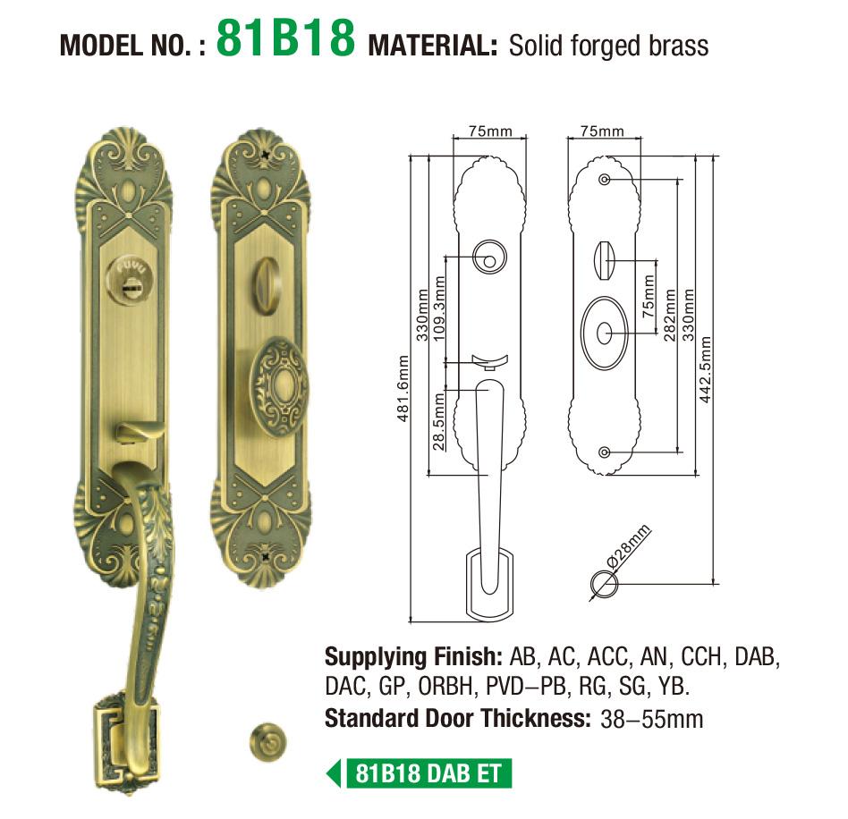 FUYU custom residential doors supplier for wooden door-5