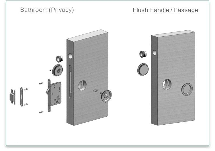 quality zinc alloy door lock for wooden door dubai meet your demands for mall-5