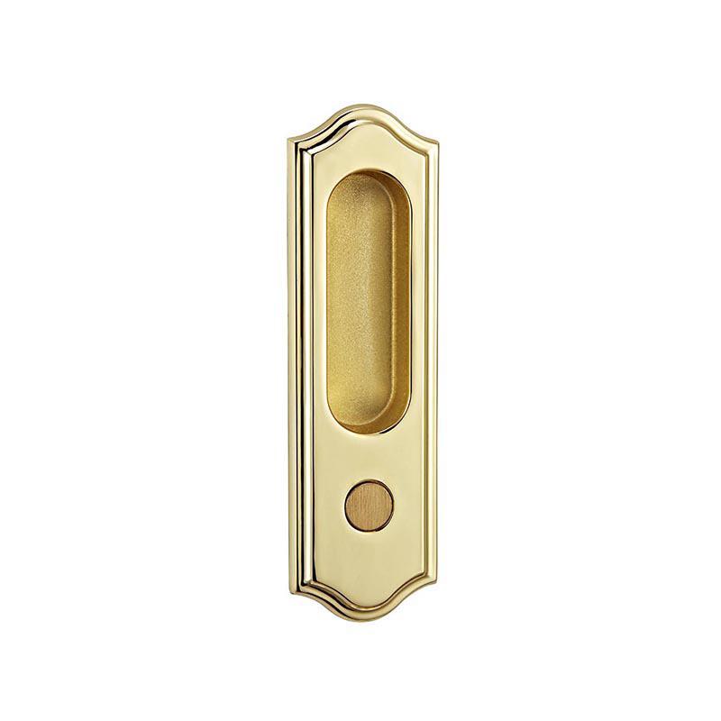 Sliding hook door lock