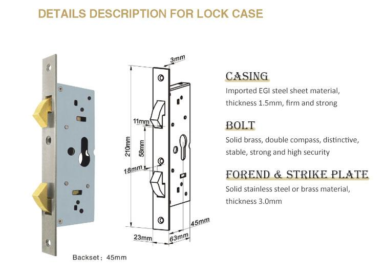 custom heavy duty sliding door lock supplier for mall-4