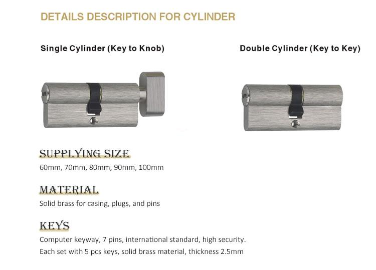oem door handle lock mortise on sale for mall-5