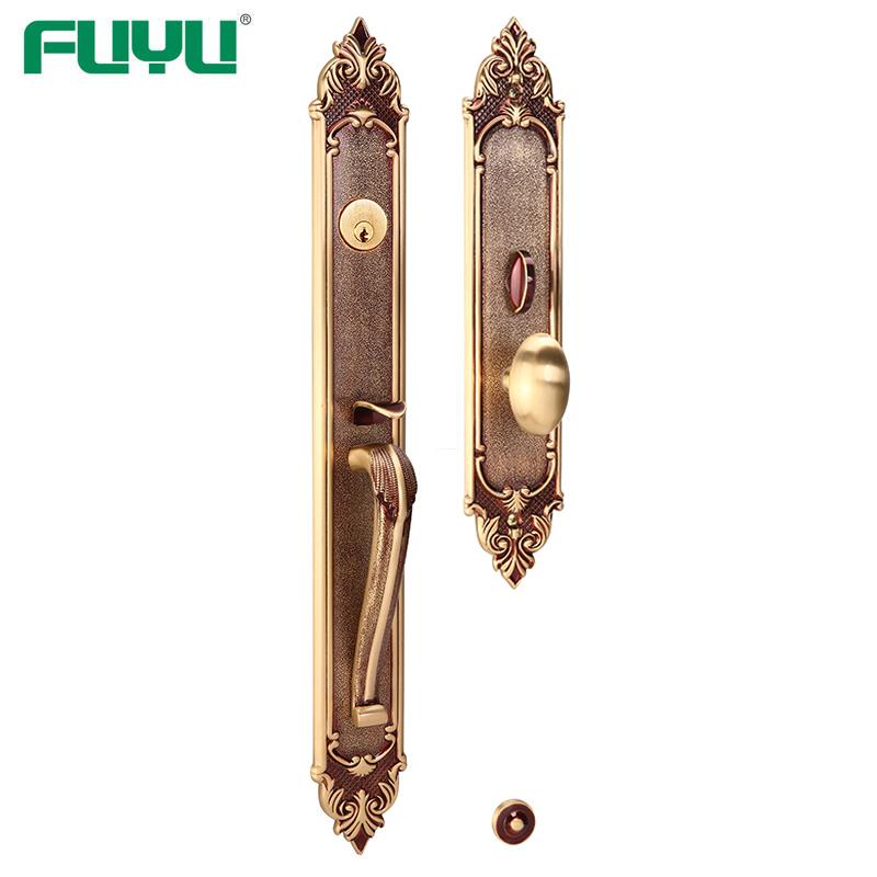 Brass main door locks