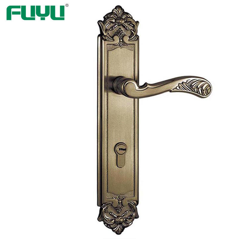 Zinc alloy mortise handle lock