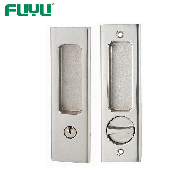 sliding door lock with key
