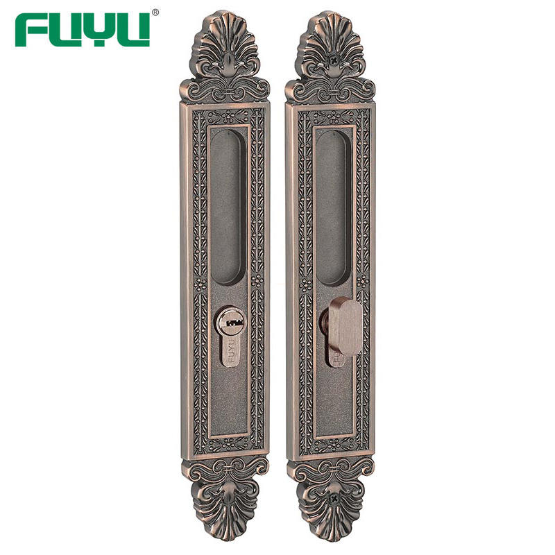 Luxury sliding door lock