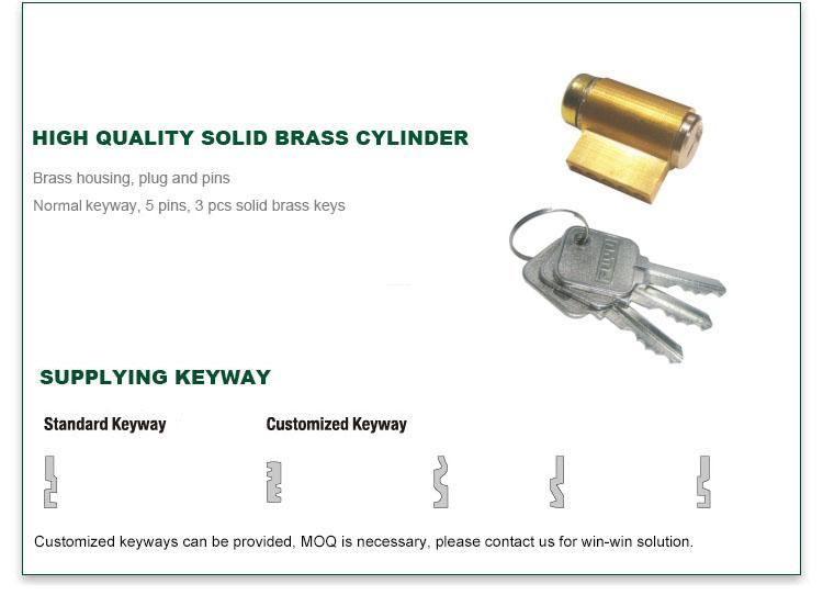FUYU cylindrical lever locks extremely security for entry door-4