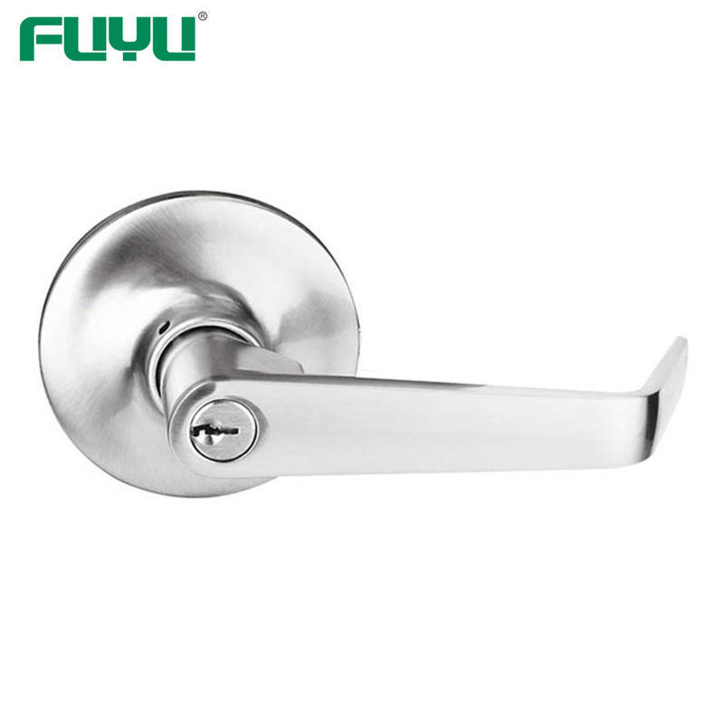 Elegent bathroom lever handle door lock