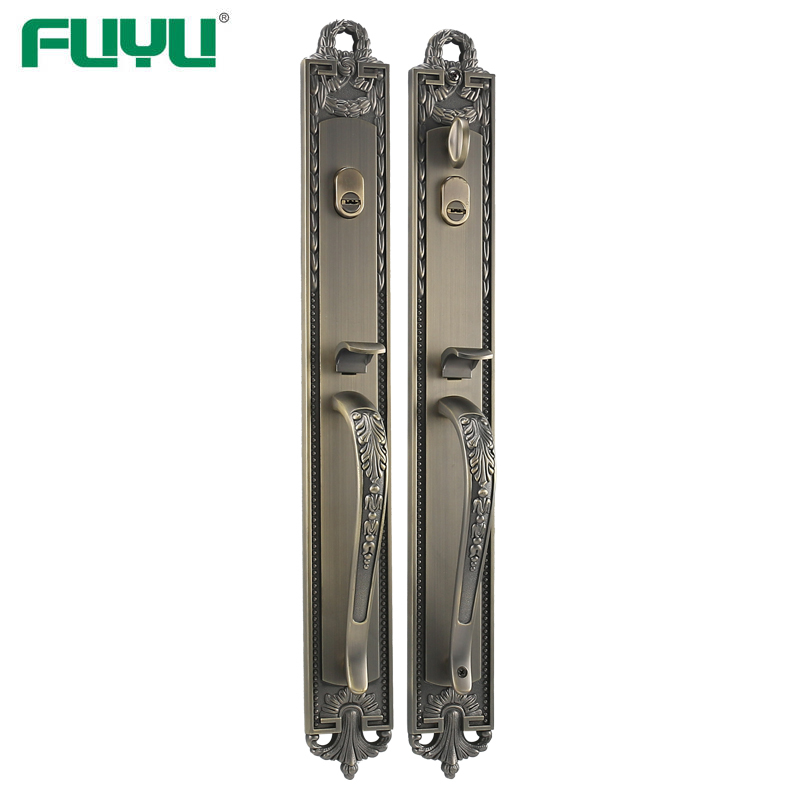Double cylinder big heavy duty mortise lock
