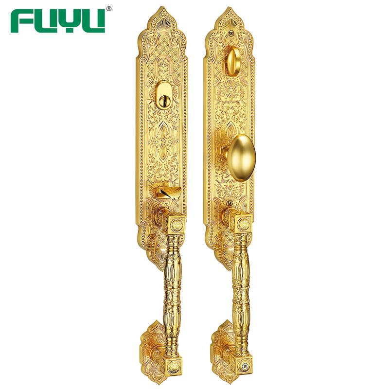 Fashionalble zinc alloy fine die cast front door lock