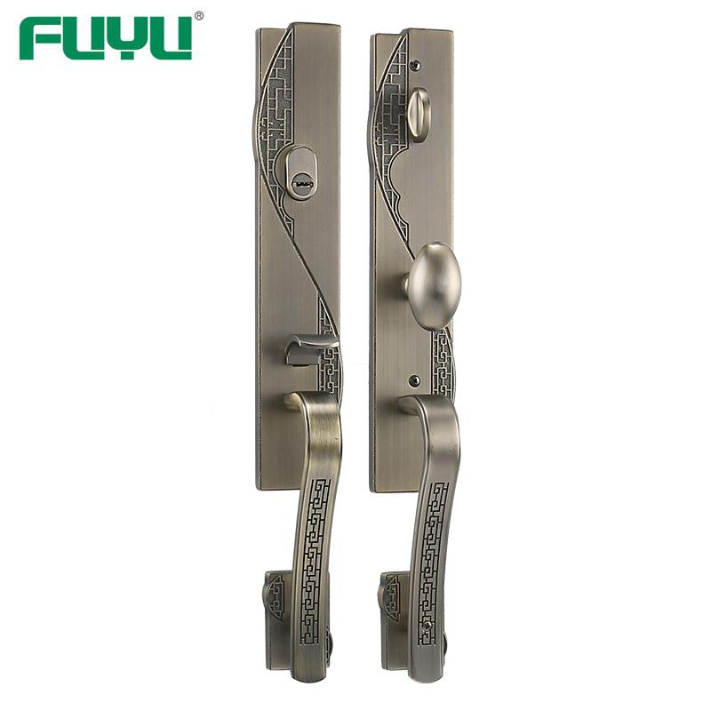 Antique brass heavy duty main door lock