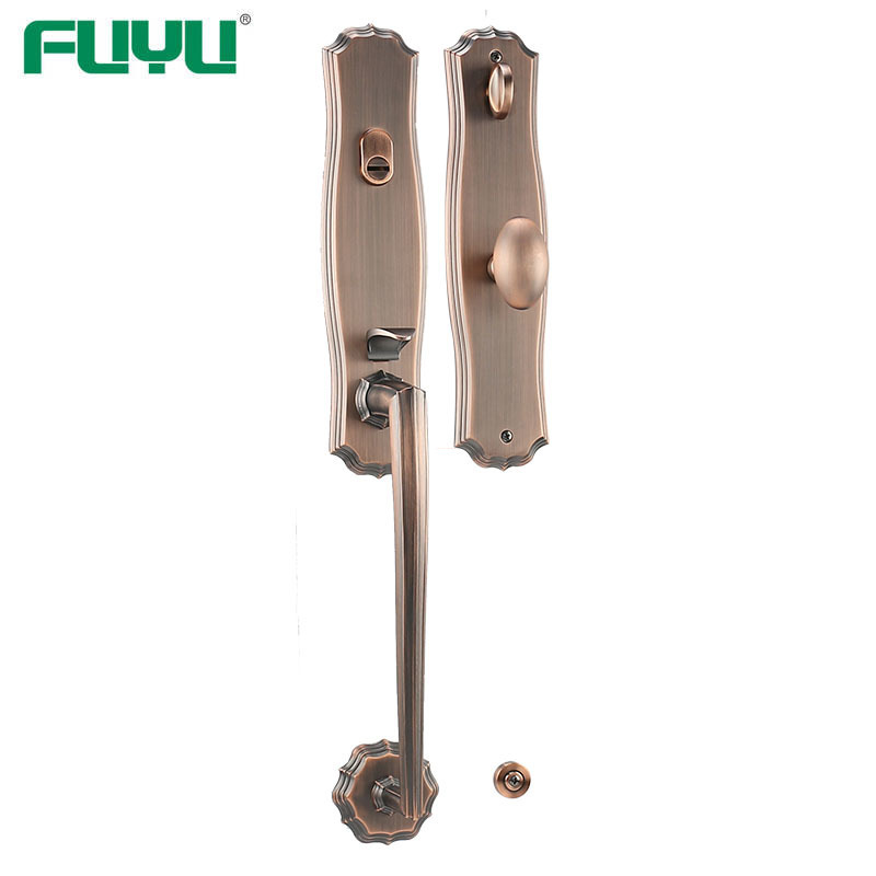 American style home entry lock set