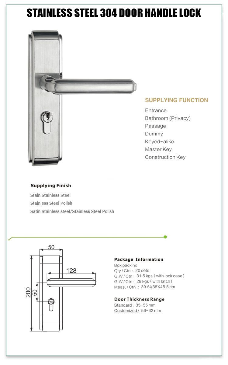 FUYU durable stainless steel lock on sale for home