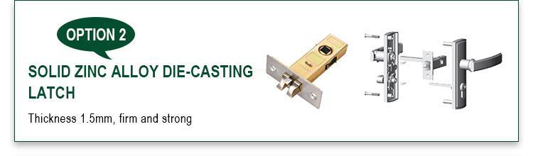 FUYU single aluminium door lock with international standard for shop-3