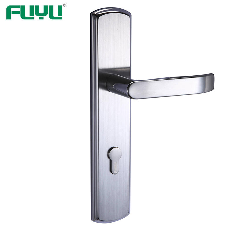 Security gate door lock