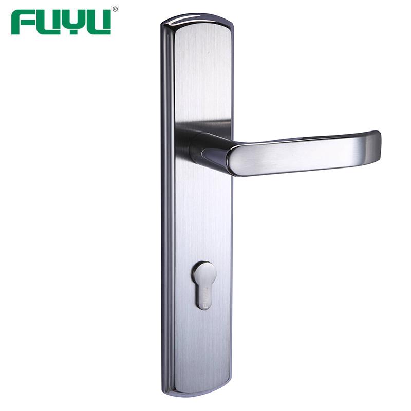 Security gate door lock
