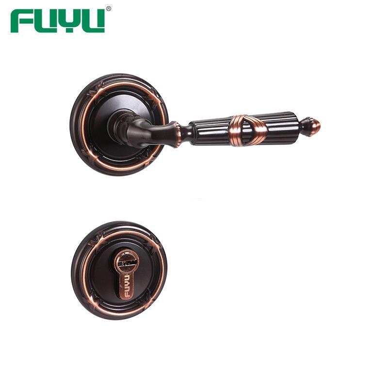 Bedroom brass handle lock