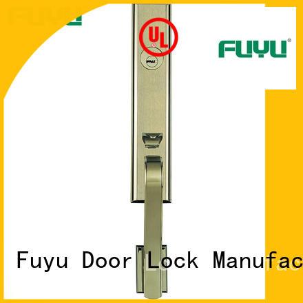 FUYU quality zinc alloy door lock for timber door on sale for indoor