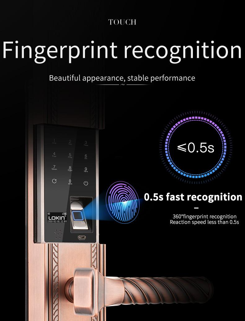FUYU best best fingerprint lock extremely security-3