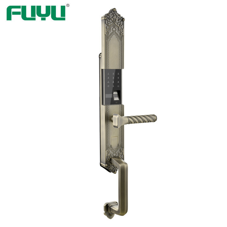 durable biometric lock with international standard for wooden door-1