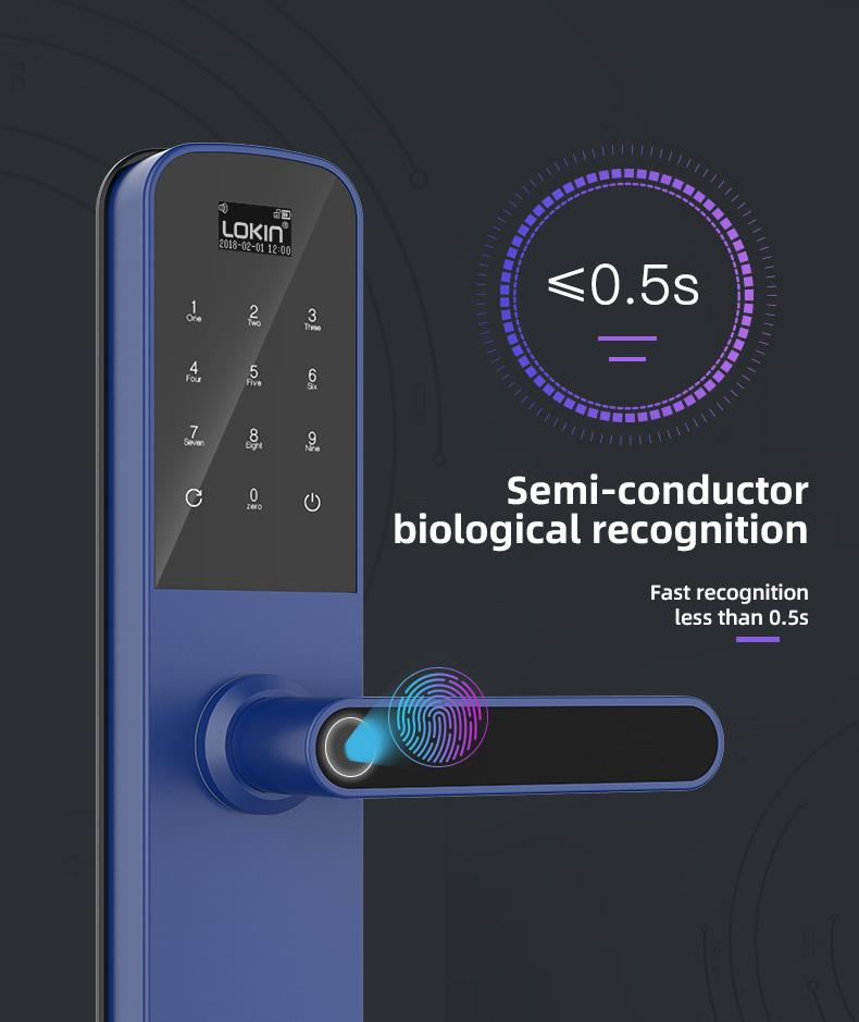 product-Smart door lock with wifi and tuya intergration-FUYU-img-1