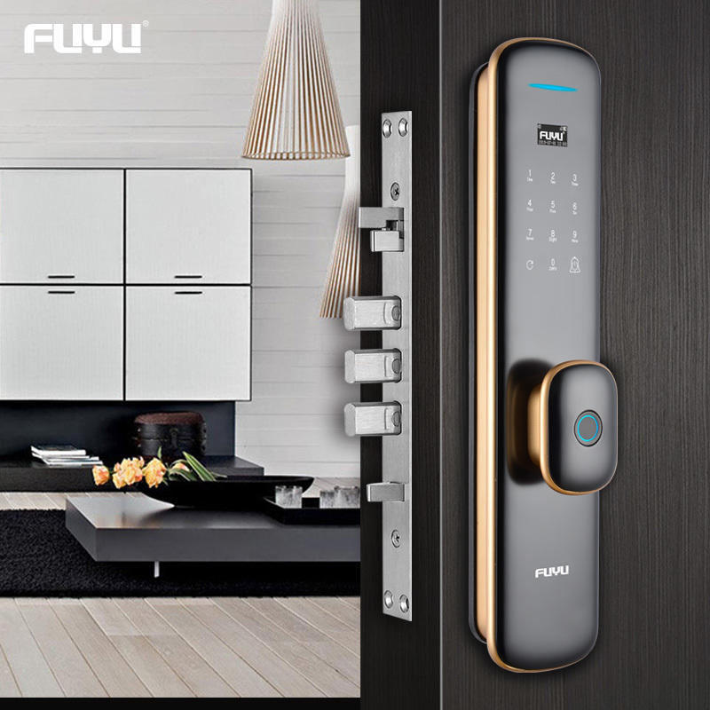Automatic intelligent keyless smart door lock