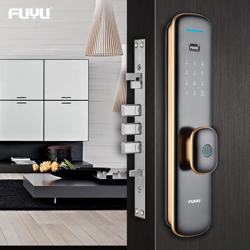 Automatic intelligent keyless smart door lock