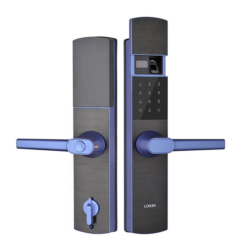 Smart digital password door lock