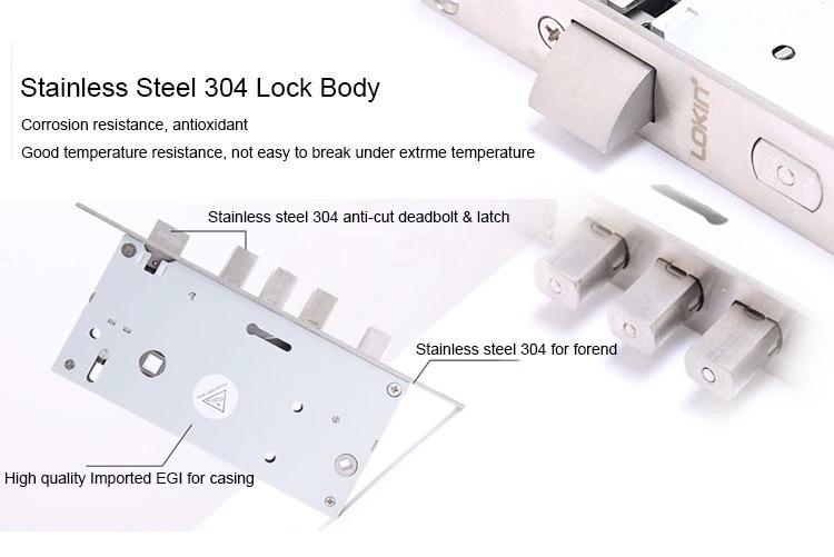 FUYU best biometric door lock for wooden door-4