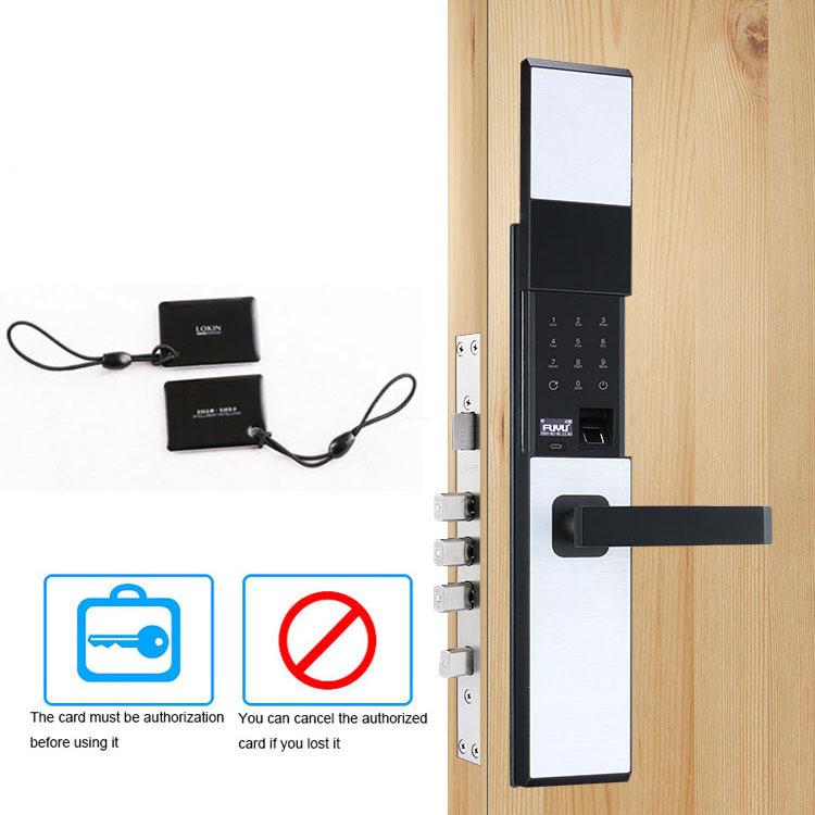 Smart card door lock