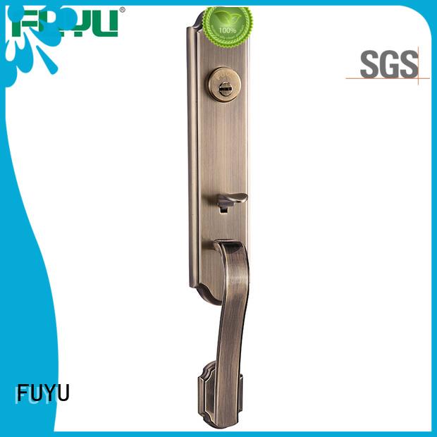 FUYU custom handle door lock supplier for entry door