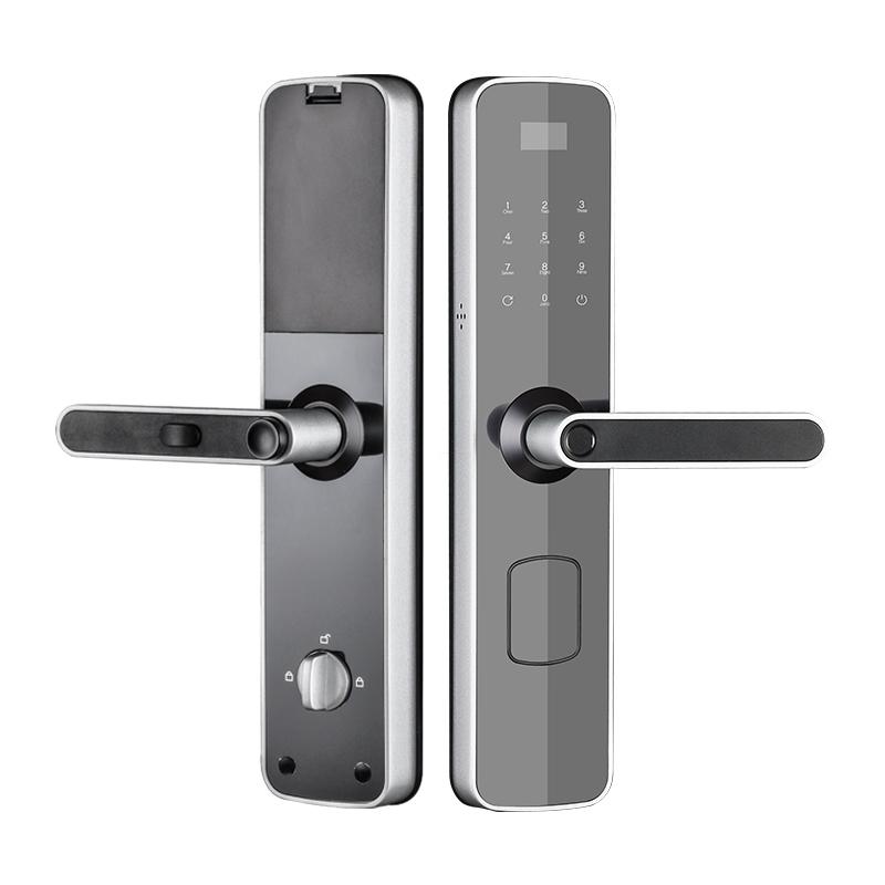 Wireless wifi smart door lock