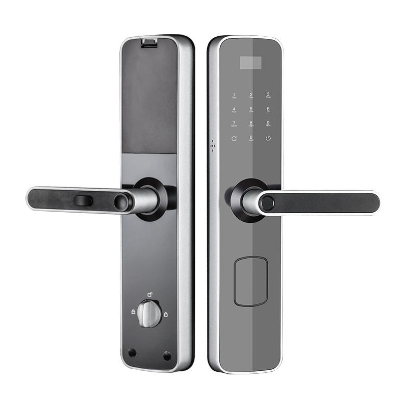 Wireless wifi smart door lock